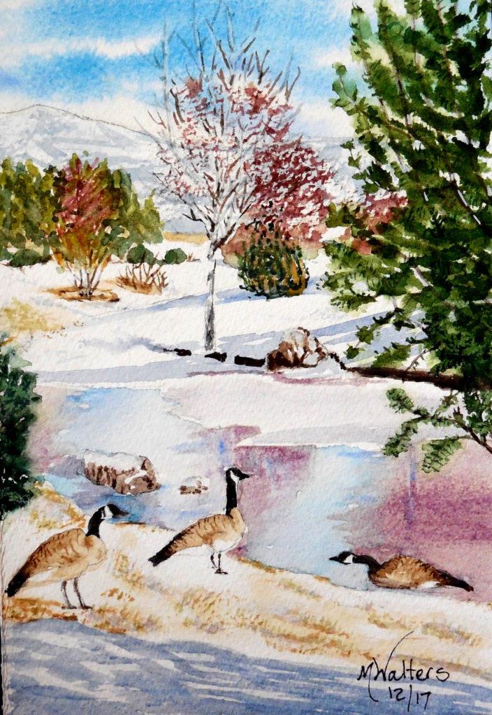 Winhaven Frozen Pond