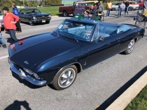 1965 Corvair Monza Convertible $25,900
