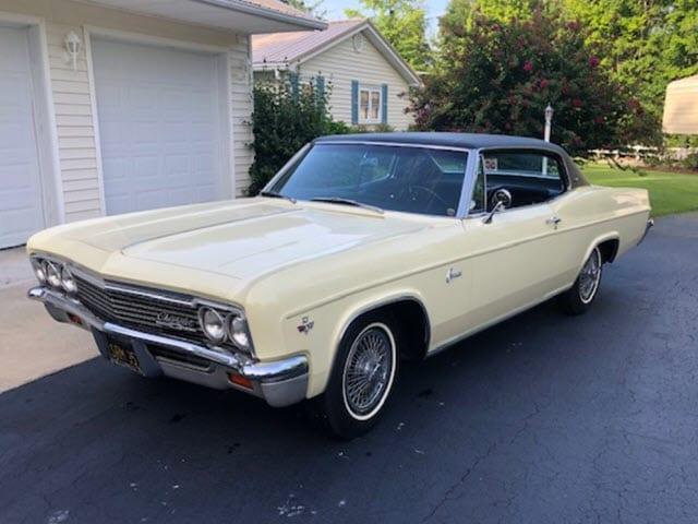 1966 Chevrolet Caprice Sport Coupe $25,900