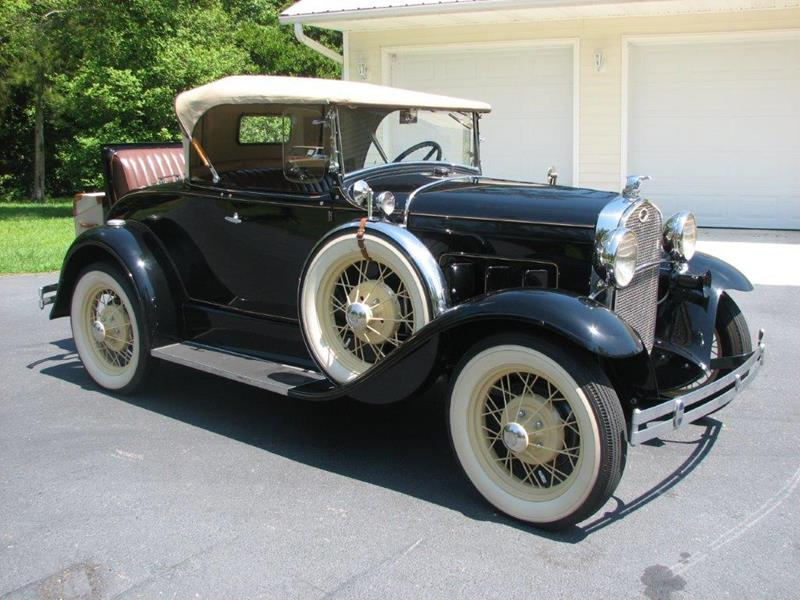1931 Ford Deluxe Roadster $29,900