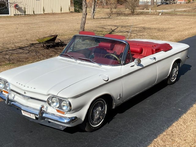 #363 -1964 Corvair Monza Supercharged Convertible