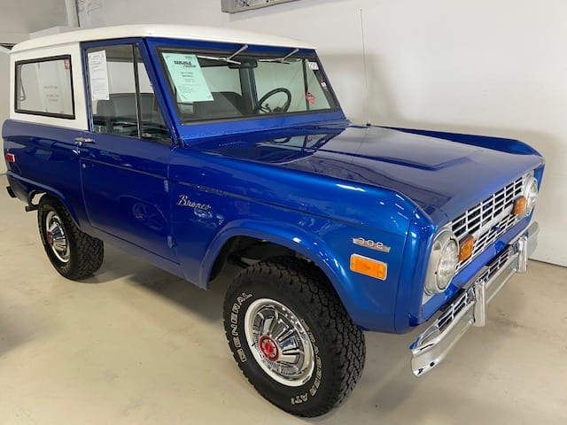 #371 – 1971 Ford Bronco 4X4