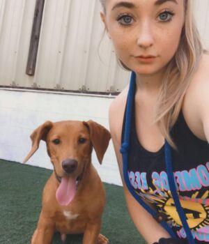 Baylee Rucker Positive Reinforcement Dog Trainer at Homedog Resort & Daycare in downtown Columbus, Ohio