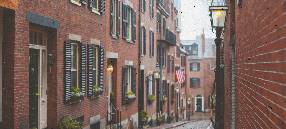 Beacon Hill Neighborhood in Boston MA