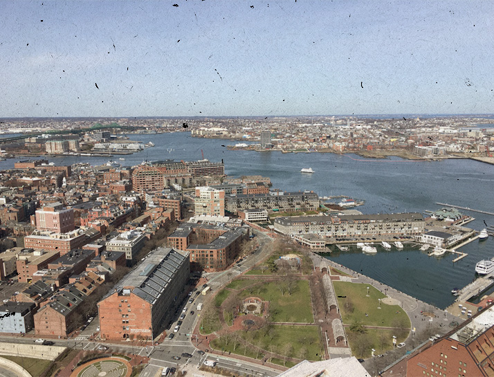 View of the Harbor From Above