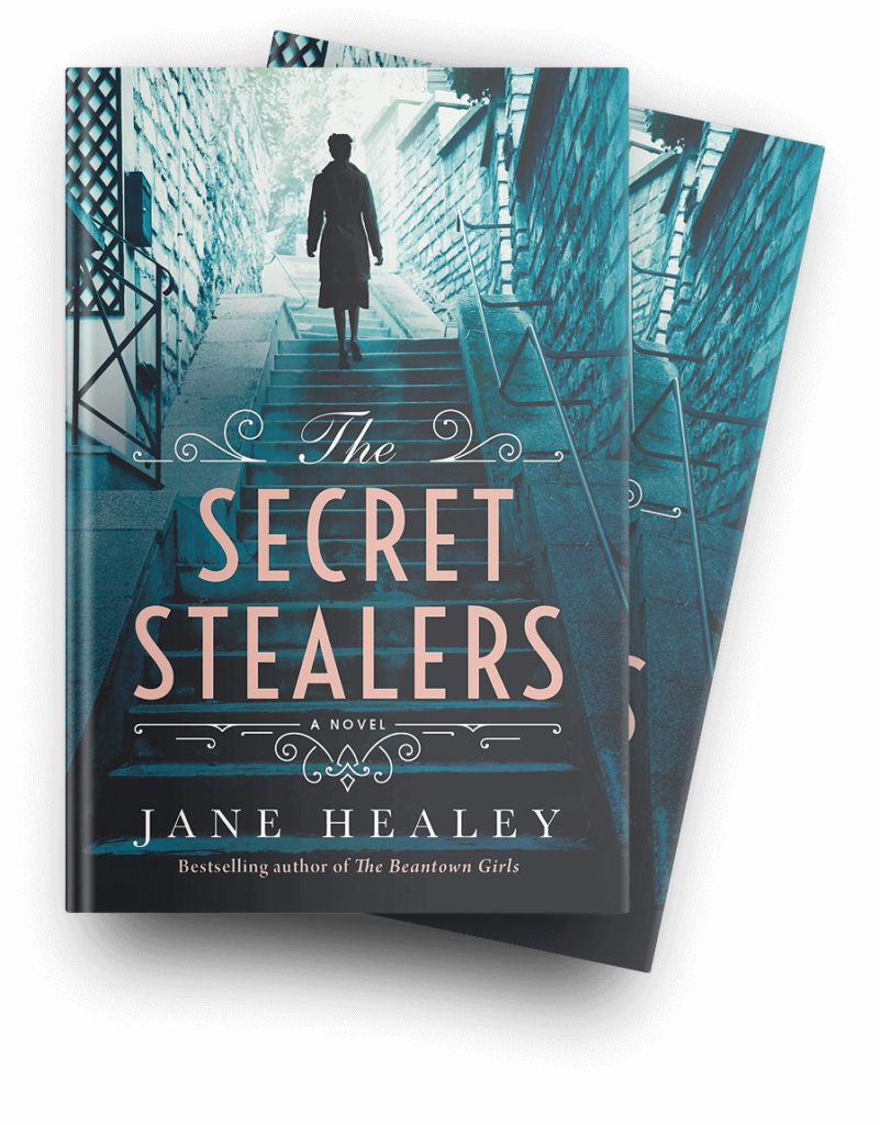 The Secret Stealers Book Cover