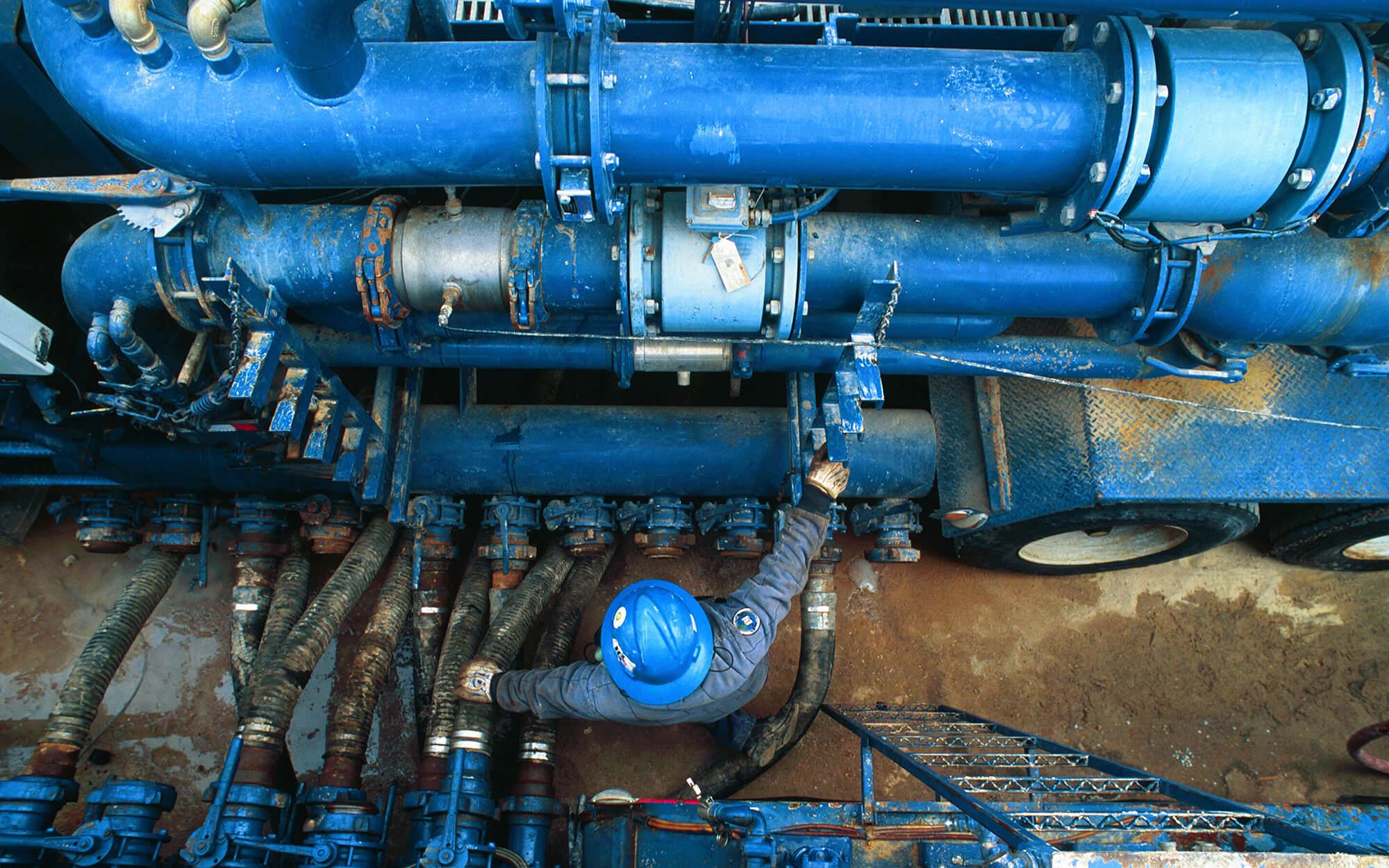 Frac Pumping Manifold Feed
