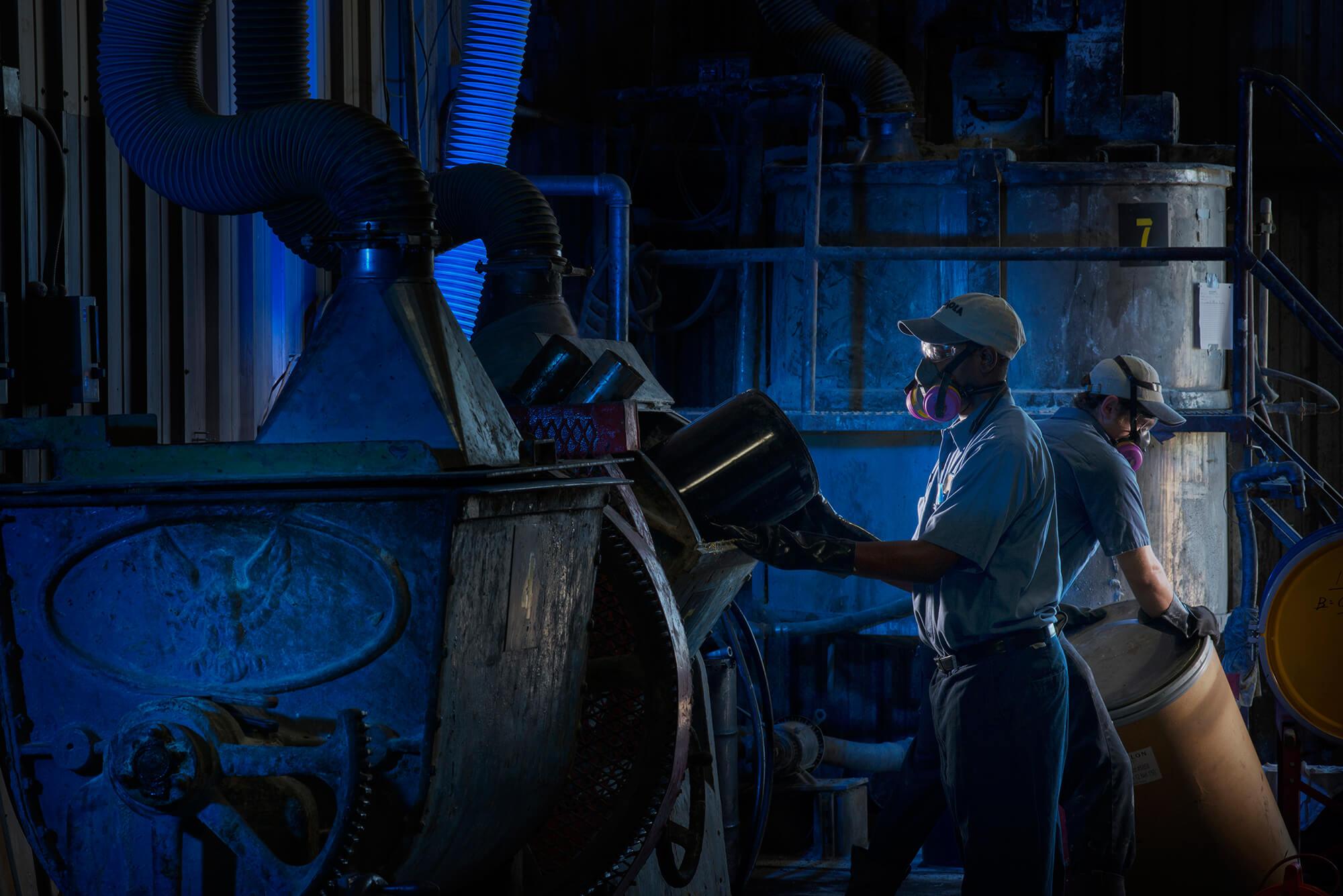 Industrial Blending