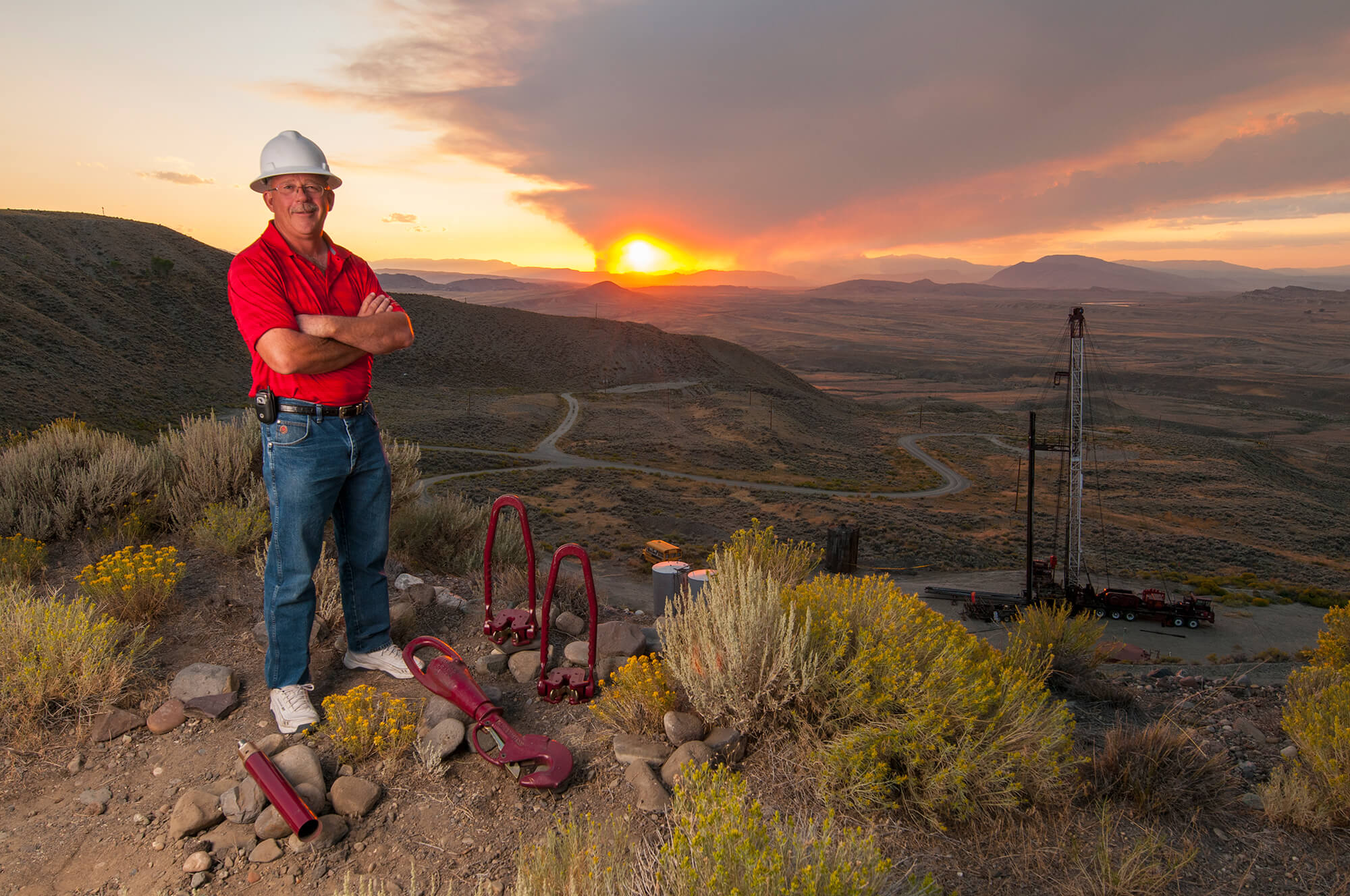 Oilfield Salesman Wyoming