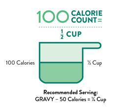 Perfect Portion Gravy 100 Calorie count