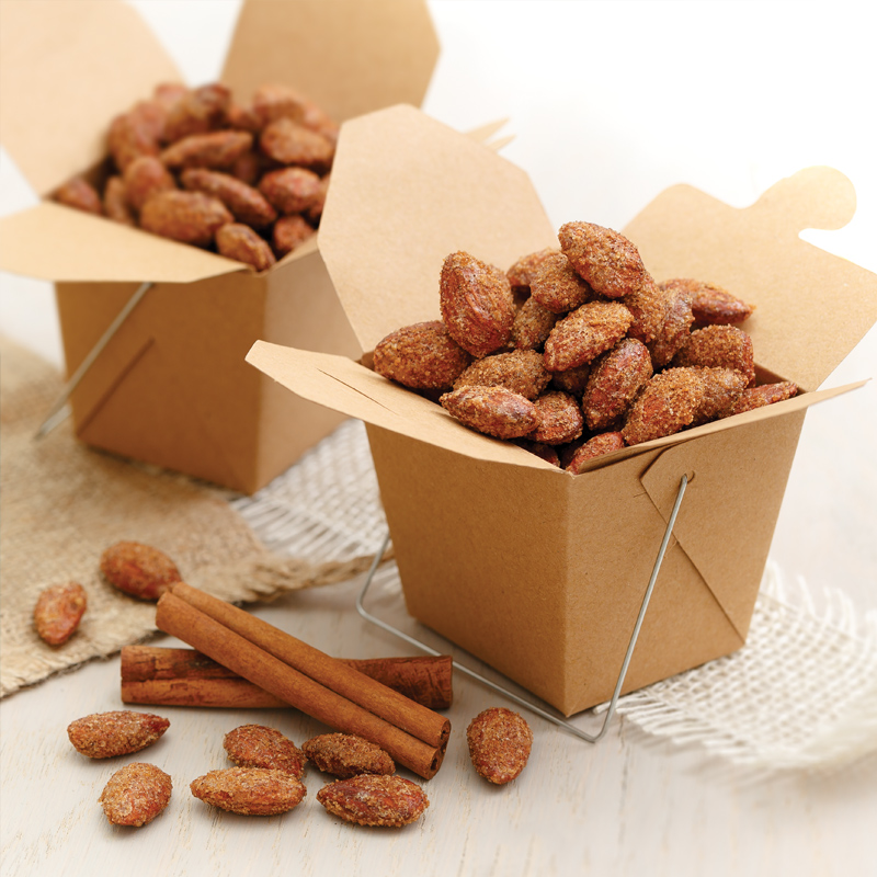 Perfect Portion Cinnamon Roasted Carnival Almonds