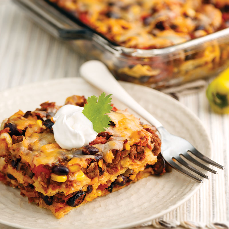 Perfect Portion Enchilada Bake