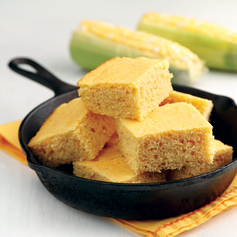 Perfect Portion Savory Southern-Style Cornbread
