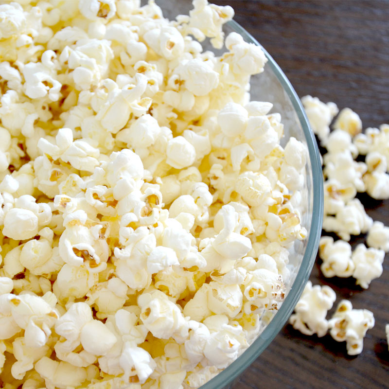 Perfect Portion Stovetop Popcorn