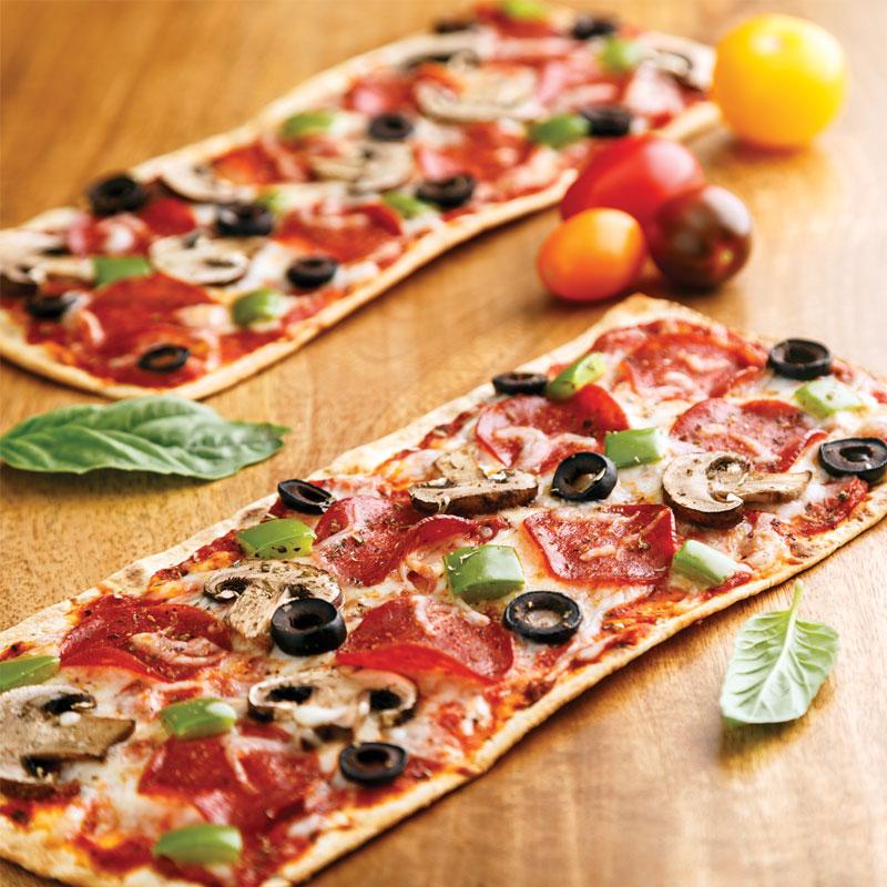 Perfect Portion Supreme Flatbread Pizza