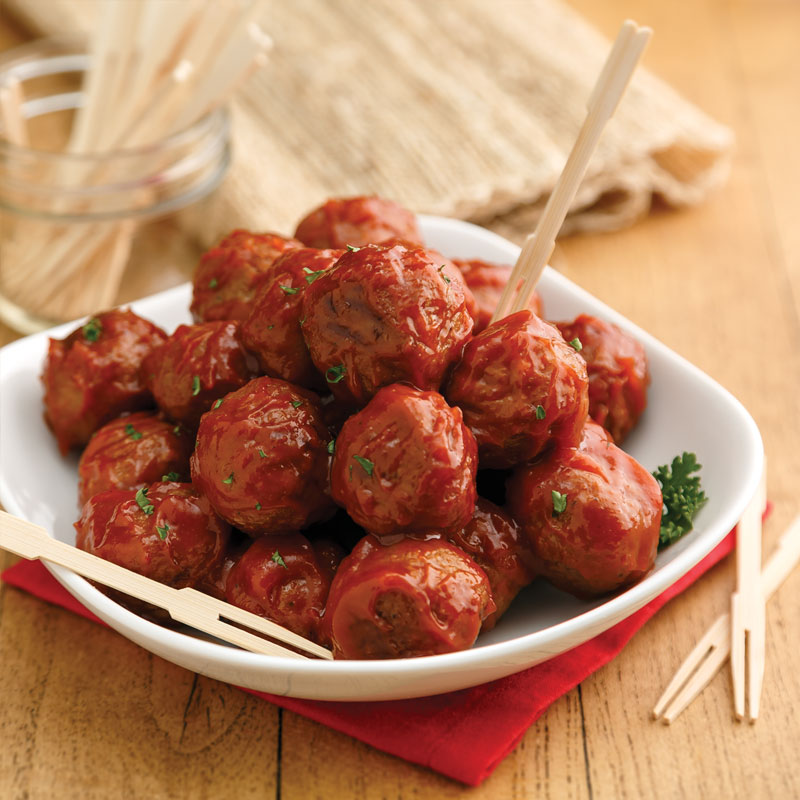 Perfect Portion Sweet and Sour Meatballs