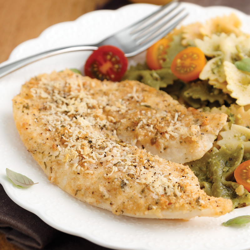 Perfect Portion Parmesan-Crusted Tilapia