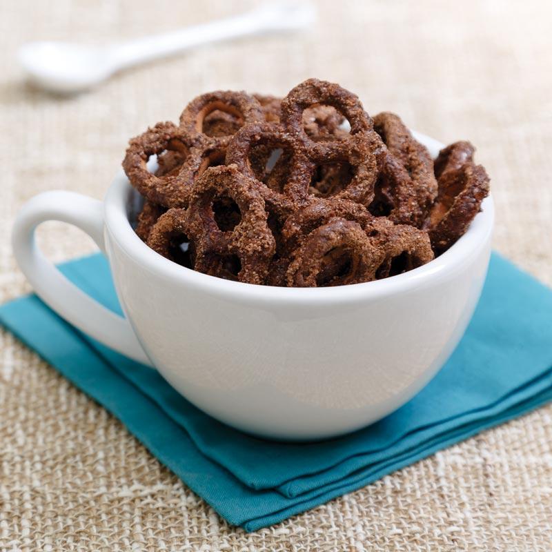 """""""Hot Cocoa"""" Pretzels"""