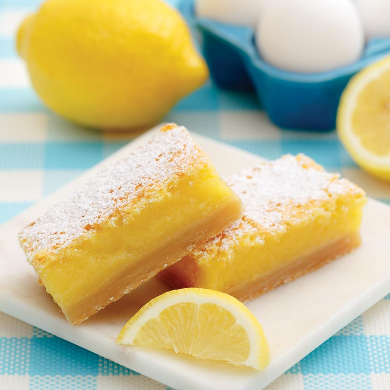 Perfect Portion Lemon Bars