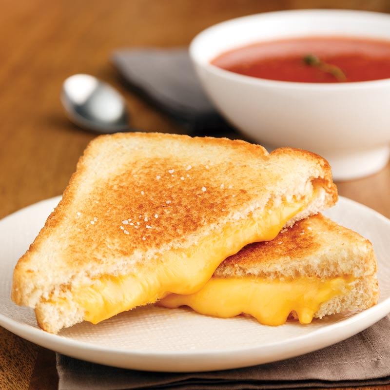 Perfect Portion Lillians Grilled Cheese