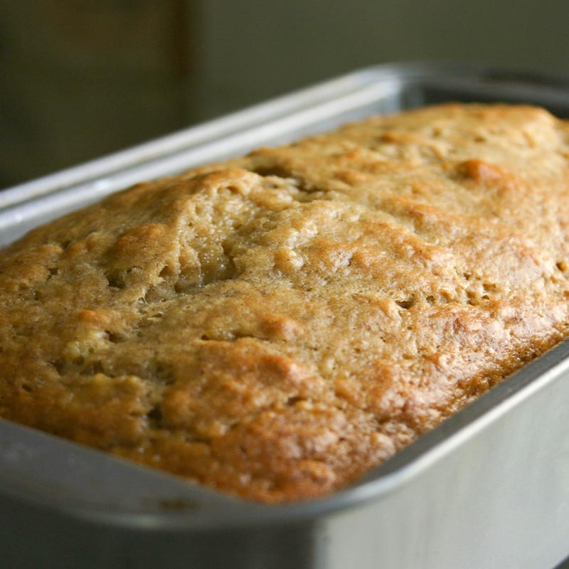 Perfect Portion Banana Bread