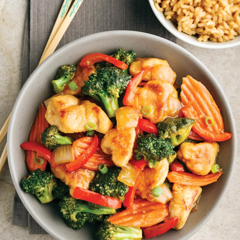 Perfect Portion Chicken & Vegetable Stir-Fry