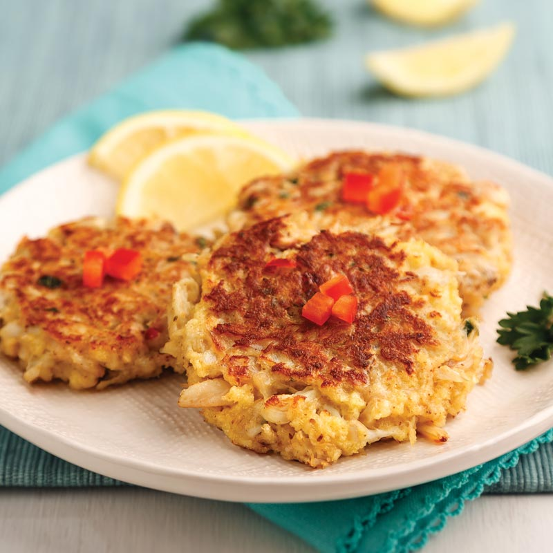Perfect Portion Maryland Crab Cakes
