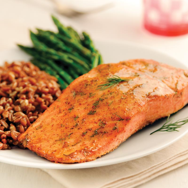 Perfect Portion Honey Mustard Salmon