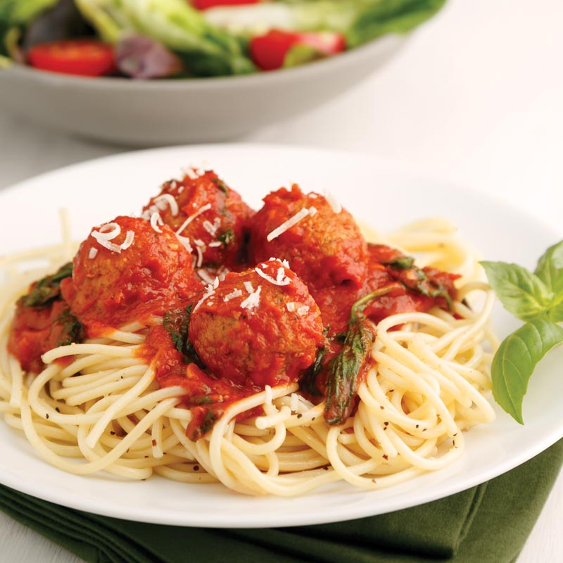 Perfect Portion Meatballs Marinara