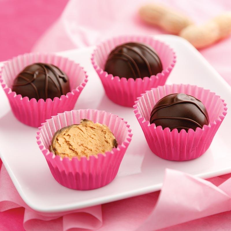 Perfect Portion Peanut Butter Truffles
