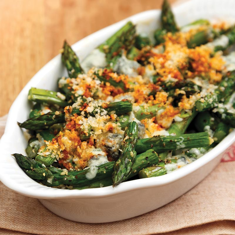 Perfect Portion Asparagus Gratin