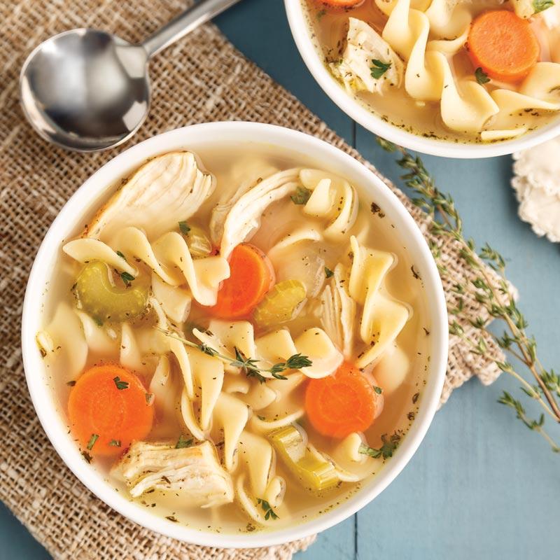 Perfect Portion Chicken Noodle Soup