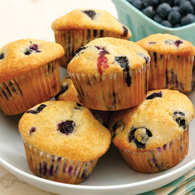 Perfect Portion Blueberry Muffins
