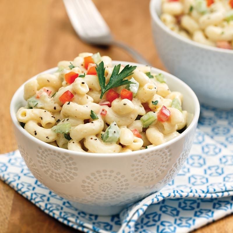 Perfect Portion Macaroni Salad