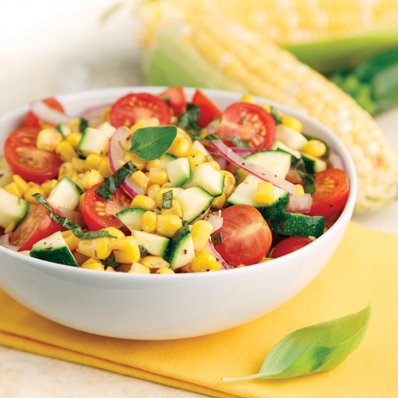 Perfect Portion Summer Vegetable Salad