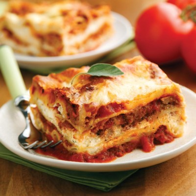Perfect Portion Lasagna
