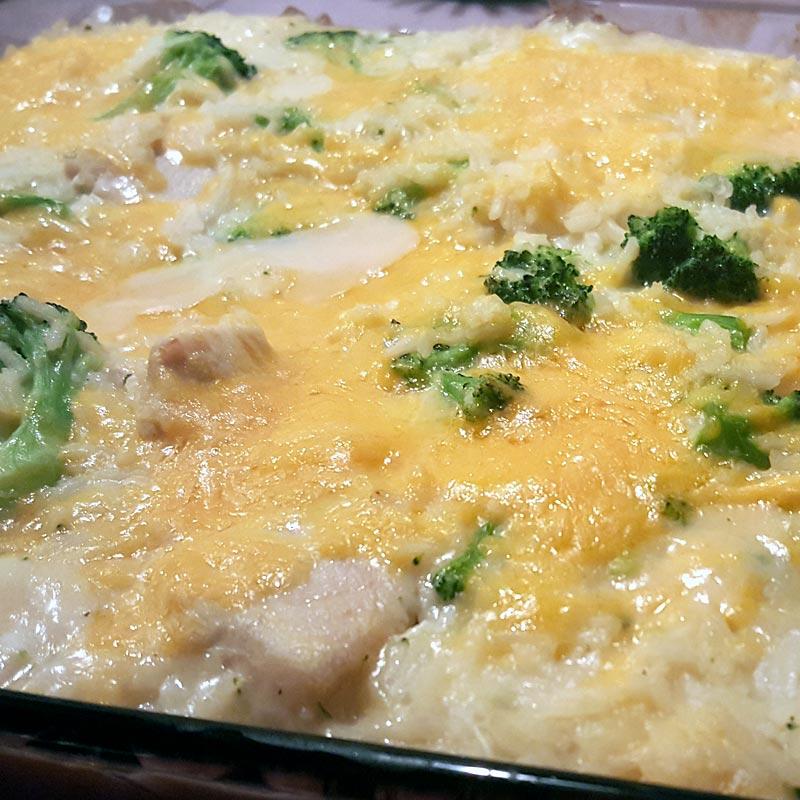 Chicken, Broccoli & Rice Casserole