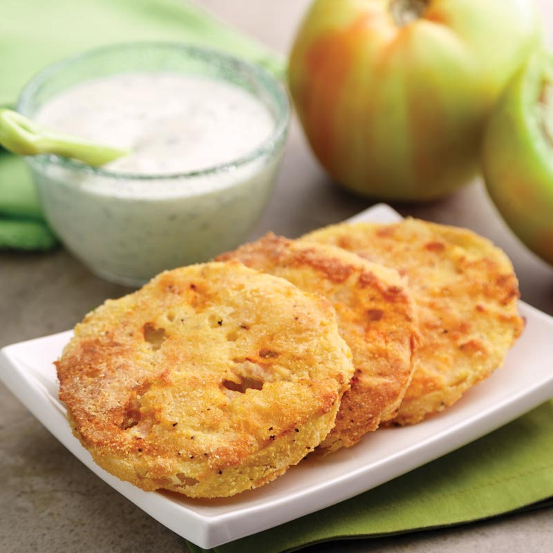 Oven-Fried Green Tomatoes