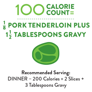 Perfect Portion Pork Tenderloin with Dijon Gravy