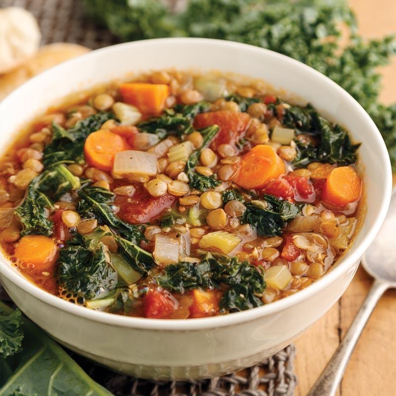 Perfect Portion Hearty Lentil Soup