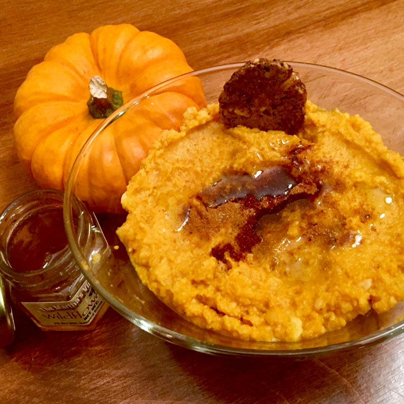 Perfect Portion Pumpkin Hummus
