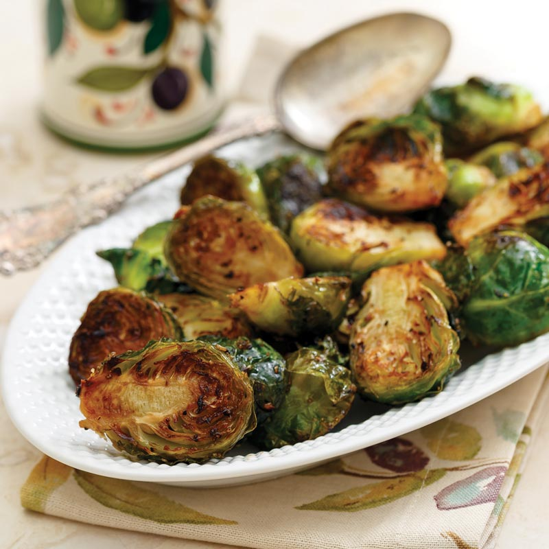 Perfect Portion Roasted Brussels Sprouts