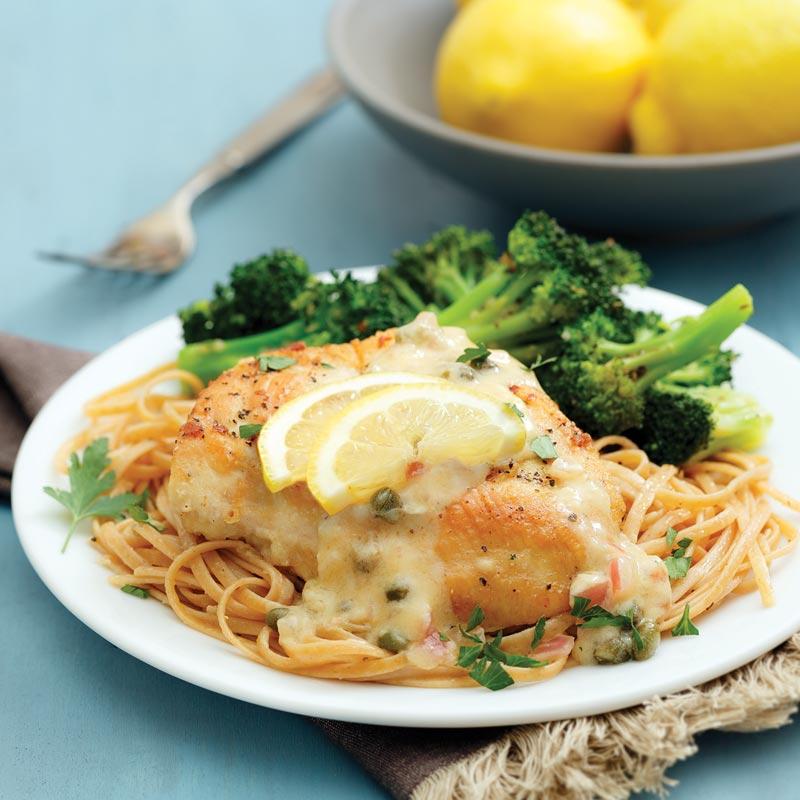 Perfect Portion Chicken Piccata