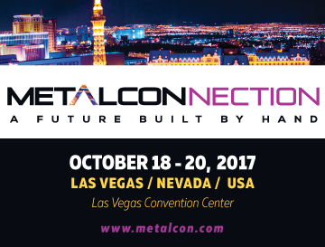 METALCON – October 18-20, 2017