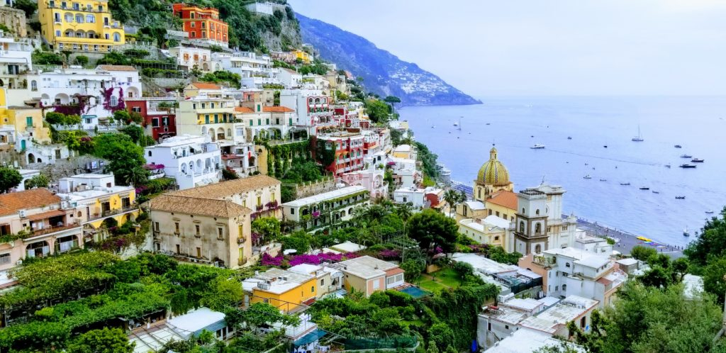 Positano is one of the most popular places to see on the Amalfi Coast, although not best to stay in