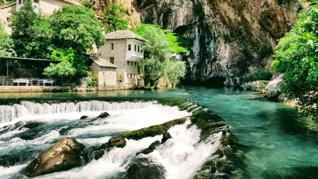 Blagaj Monastery is a must visit destination when visiting Mostar.
