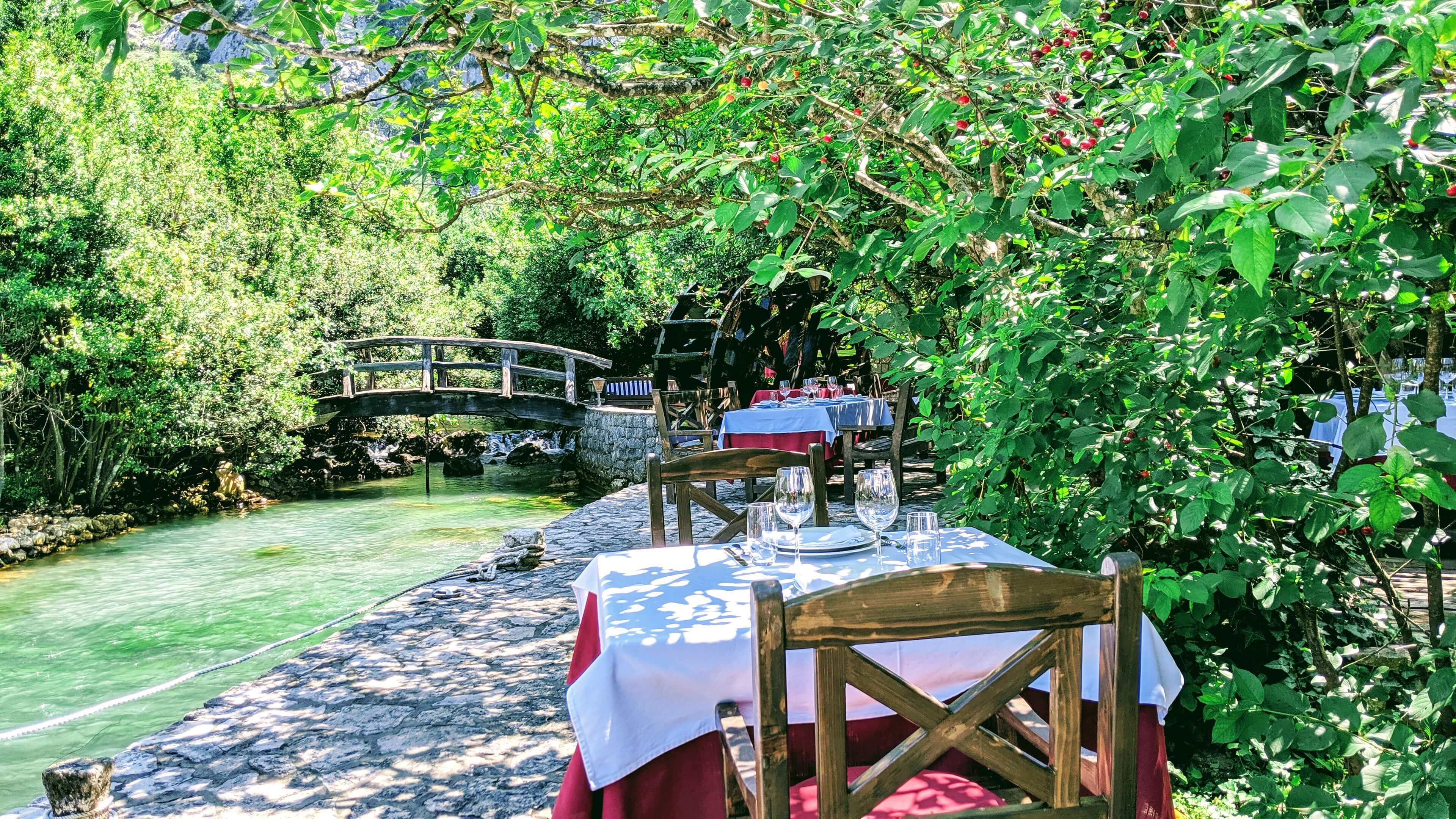 Things to see and do in Montenegro Stari Milni Restaurant  for the view and the old doc