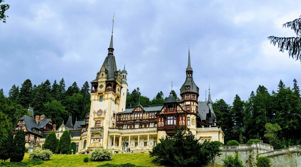Peles Castle is a must on a 2 or 3 day Brasov itinerary