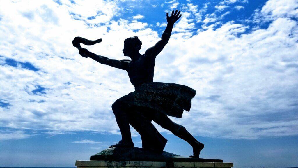 Statue on Gellert Hill