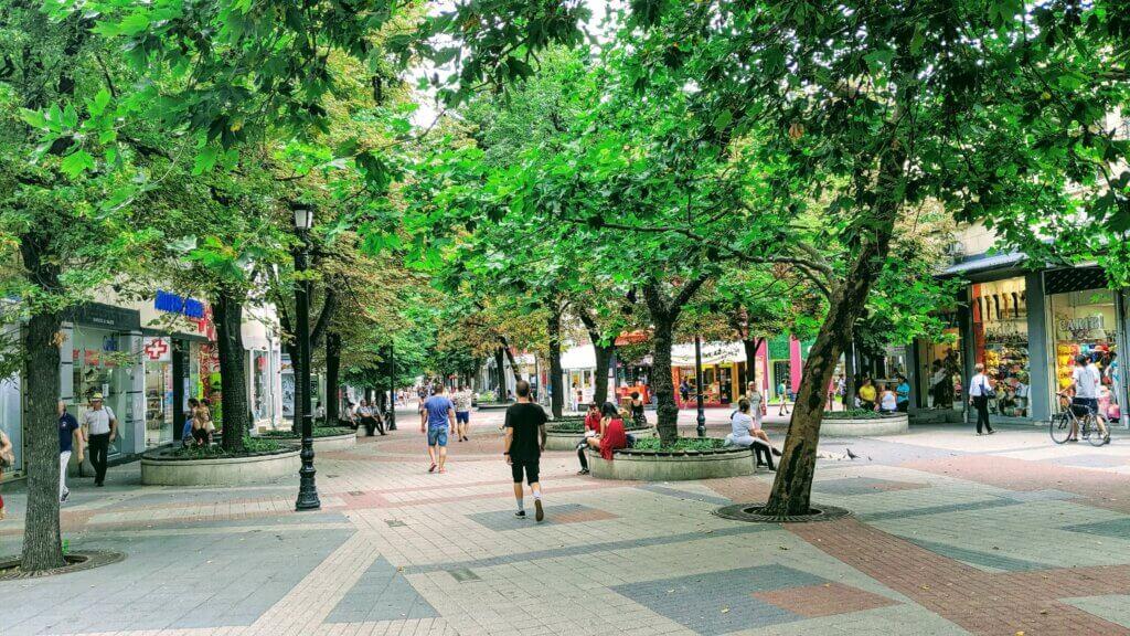 Main Pedestrian Street of Plovdiv